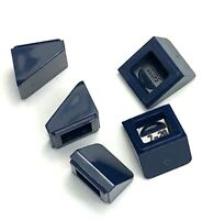 Lego 5 New Dark Blue Slope 30 1 x 1 x 2/3 Sloped Pieces