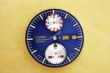 NEW SEIKO 6138 0011 UFO DIAL FOR SEIKO 6138 BLUE VER. CHRONOGRAPH WATCH NR#156