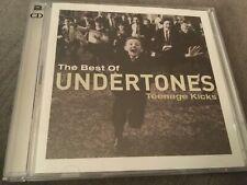 THE UNDERTONES BEST OF CD + DVD TEENAGE KICKS JIMMY COUSIN SUMMER WEDNESDAY OVER