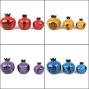 Handmade Turkish Vivid Pomegranate Decoration Vases Decor House Warming Gift