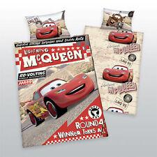 Linge de lit Disneys Cars Mc Queen crochet Hudson Luigi 100 x 135 CM ZIP NOUVEAU