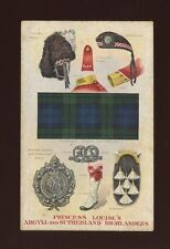 Sutherland Posted Collectable Military Postcards (Pre-1914)