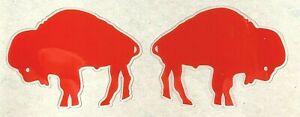 BUFFALO BILLS THROWBACK MINI SIDE HELMET DECAL SET 1962 - 1973