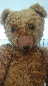 Charlie - Huge 33 Inch Artist Teddy Bear - Pull Growler - Very Cute!