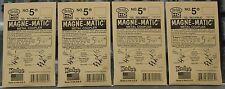 Lot of 4 Packs of HO Scale KADEE - # 5 MAGNE-MATIC Metal Couplers 2 Pair per pak