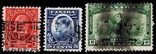 1932 CANADA #192-94 OTTAWA CONFERENCE - USED - F/VF+ - CV$10.25 (ESP#2432)