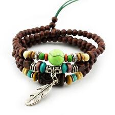 TIBET WICKELARMBAND SERIE 12! Armband-Halskette Leather Bracelet !Surferarmband