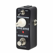 More details for sonicake noise wiper true bypass noise gate guitar bass effect pedal qss-14