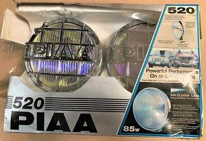 PIAA 520 Ion Yellow Driving Halogen Lamp Kit (5261) Open box