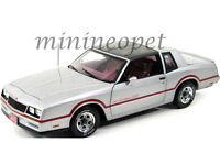 ERTL 39461 1985 85 CHEVY MONTE CARLO SS 1/18 DIECAST MODEL CAR SILVER