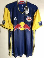 Adidas Authentic MLS Jersey New York Red Bulls Team Navy sz XL