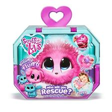 Scruff A Luvs Rescue Pet Soft Toy - Rabbit, Cat or Dog, Pink NEW - UK -FREE POST