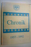 Chronik 1957-1992 ADMV ~ Allgem. Motorsport Verband == EXTREM SELTEN