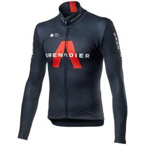 Ineos cycling Long Sleeve jersey Thermal Fleece/Polyester Ineos cycling jerseys