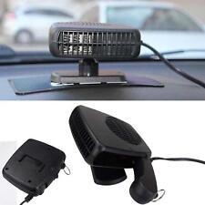 12V Car Heater Hair Dryer Demister & Defroster Cooling Fan Folding Handle Van EL