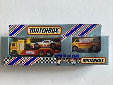 MATCHBOX TEAM CONVOY, KENWORTH PEPSI RACING TRANSPORTER SET, CHEVY STOCKER & VAN