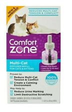 Comfort Zone Multi-Cat Diffuser (1) One Refill for Cats & Kittens 48ml