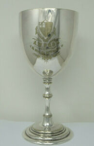 Large Clifton College Bristol 1886  Trophy Cup for 1/4 Mile Race