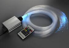 Color change night star show bedroom fiber optic light wireless power saving led