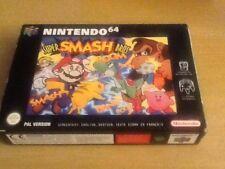 N64 Super Smash Bros Mario Pokemon complete boxed  inc Manual Nintendo
