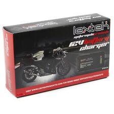 Lextek Motocicleta Moto Scooter 12v Cargador De Batería Optimizador & & mantenedor