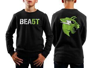BEAST 51 Sweatshirt Kids Mr Beast Sweatshirt Youth Merch Area 51 Kids Sweatshirt