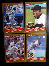 1986 Donruss Highlights San Francisco Giants Team Set of 4 Baseball Cards
