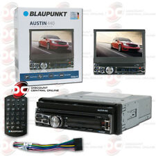 BLAUPUNKT AUSTIN440 CAR 1DIN DVD CD BLUETOOTH STEREO W/ MOTORIZED 7