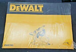 """Brand New DEWALT DWS780 1675W 305mm 12"""" Dual Bevel Slide Compound Miter Drop Saw"""