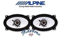 ALPINE SXE-4625S  KIT 2 CASSE ALTOPARLANTI OVALI per FIAT DUCATO 1981>2002 AUTO