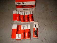 "1970 ford Torino Mustang 351C vintage style ""autolite"" spark plugs (10)c9zz-1240"