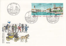 Schweiz  FDC Ersttagsbrief 1984 NABA ZÜRI Mi.Nr.1277-79