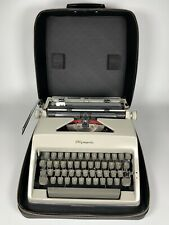 More details for olympia sm8 typewriter and case. 1960s. made in w. germany. very good condition.