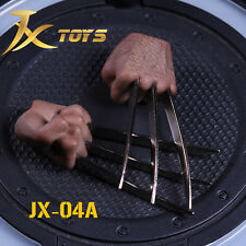 JXtoys 1:6 Flexible JX04A fist claw hand type For Wolverine Hugh Jackman Figure