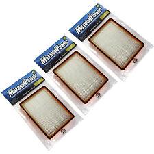 THREE Filter Eureka HF-2 Vacuum Boss Ultra SmartVac Cyclonic # 61111D Filter X3