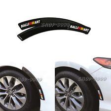 2 x Nismo C.F+Rubber Fender Arch Trim Sticker Protector Car Wheel Eyebrow Strip