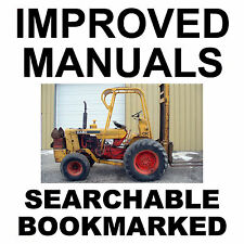 Case 580CK 580 CK Forklift Operators Owners Instruction Manual - IMPROVED - CD