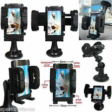 En Coche Teléfono Móvil Sat Nav GPS titular con bloqueo de portadora de células de montaje de la succión