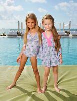 Cabana Life Girls Bora Bora Cover Up Sets (Size:6X)