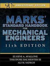 Marks' Standard Handbook for Mechanical Engineers 11th Edition, Very Good Books