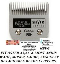 ANTIMICROBIAL CLASSIC 5F BLADE*Fit Oster A5,Many Andis,Wahl Pet Grooming Clipper