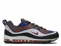 Men's Nike Air Max 98 Shoes Phoenix Gunsmoke Suns Team Orange 640744-012 Size 12
