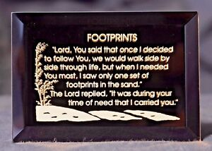 A Gift of Inspiration - A Footprints in the Sand Keepsake Magnet
