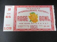 1951 Rose Bowl California vs Michigan Football Ticket Official Reproduction