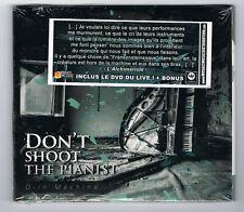 DON'T SHOOT THE PIANIST - D-IN MACHINA - CD 8 TRACKS + DVD - 2011 - NEUF NEW NEU