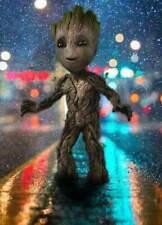 Groot  Film Movie Rain I Am Groot  Art  Wall A0, A1, A2, A3, A4 poster