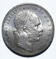 1880 Hungary One 1 Forint - Ferenc Jozsef - Lot 192