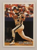 Jeff Bagwell 1993 Bowman #420 Houston Astros HOF