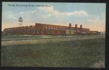 Postcard SEBRING Ohio/OH  Strong Enameling Factory/Plant Railroad Yard view 1907