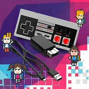 Ortz NES Classic Edition Mini Controller [Turbo Edition] Rapid Buttons for Ninte